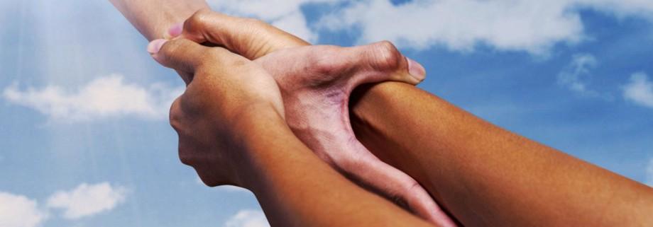 Rebound Hands Logo